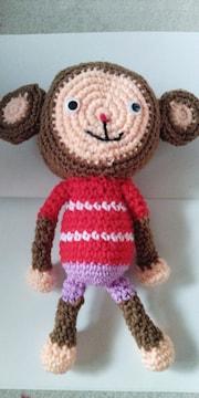 手編みおさるさん