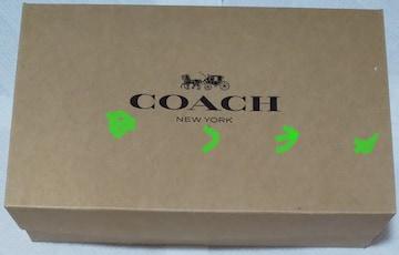 コーチ 紙袋+箱 梱包用 COACH ラッピング用