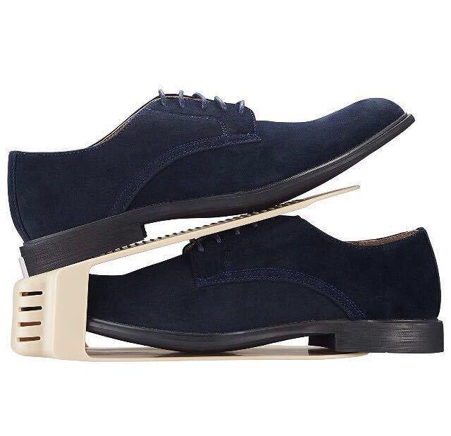 日本製 靴 収納 くつホルダー (ベージュ)4足分1210円が・・・ < インテリア/ライフの