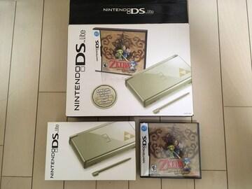 北米限定 DS Lite ゼルダの伝説 夢幻の砂時計 本体同梱パック