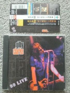 ギルビー・クラーク 99ライブ 古CD ガンズ スネイクピット キル・フォー・スリルズ