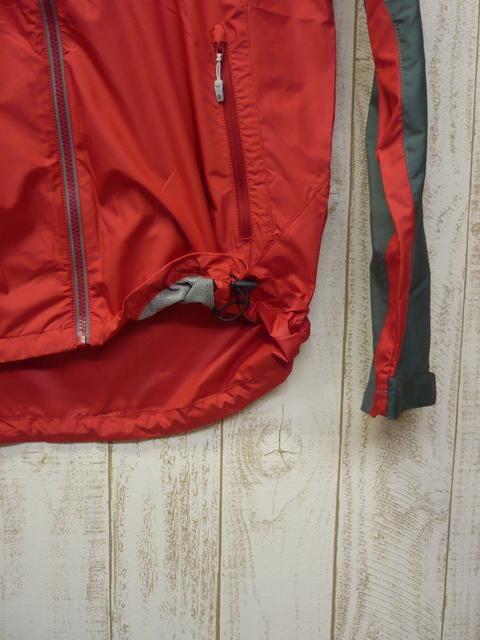 即決☆マーモット 特価 マウンテン ジャケット RED/M 新品 ウインド < 男性ファッションの