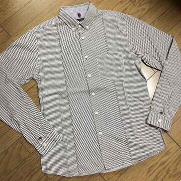 美品MENS MELROSE デザインチェックシャツ メンズメルローズ