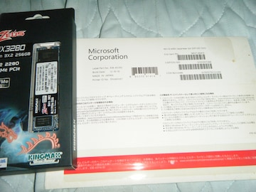 【DSP版】 Windows8(64bit) & M.2 PCIe SSD 256GB★★