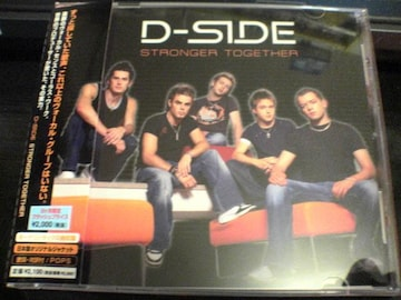 D-SIDE CD STRONGER TOGETHER限定版