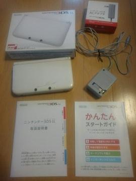 ニンテンドー3DS LL本体&3DS用ACアダプタ(充電器)付き♪中古品