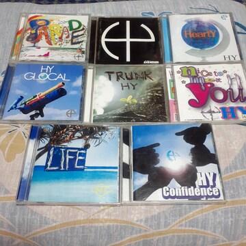 HY/ CD アルバム 8種類セット