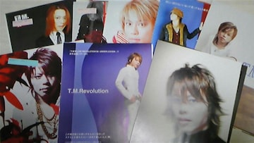 T.M.Revolution abs 切り抜き+ポスター 114枚