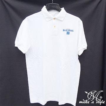 Duke デューク ブルーデビルズ ポロシャツ 半袖 424 L