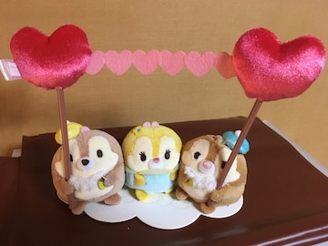 ☆ストア購入☆チップ&デール&クラリス☆ウフフィミニセット☆