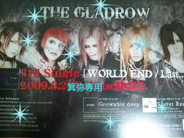 AWAKE&THE GLADROWフライヤー3枚◆2009〜16年ラスト1点◆27日迄価格即決