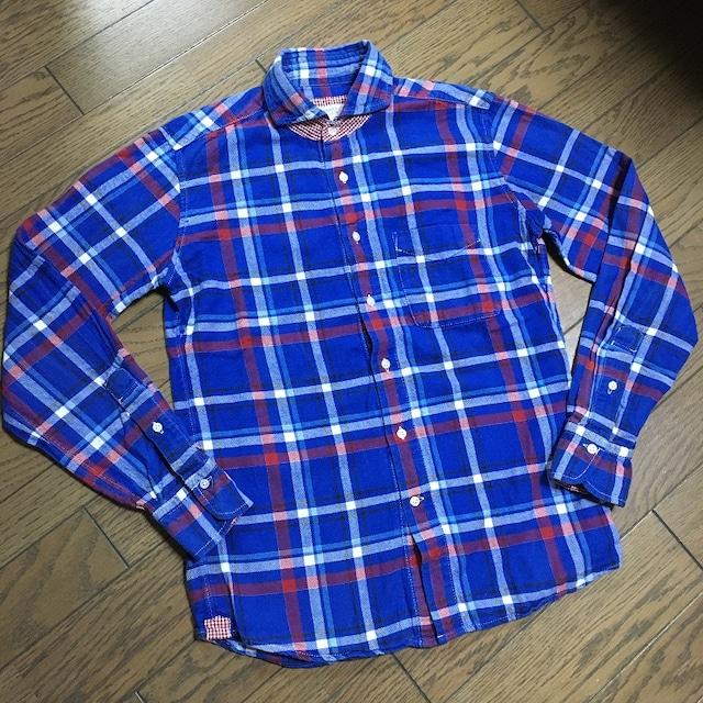 BEAMS チェックシャツ ビームス  < ブランドの