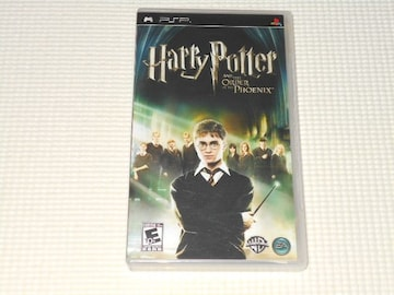 PSP★HARRY POTTER AND THE ORDER OF THE PHOENIX 海外版