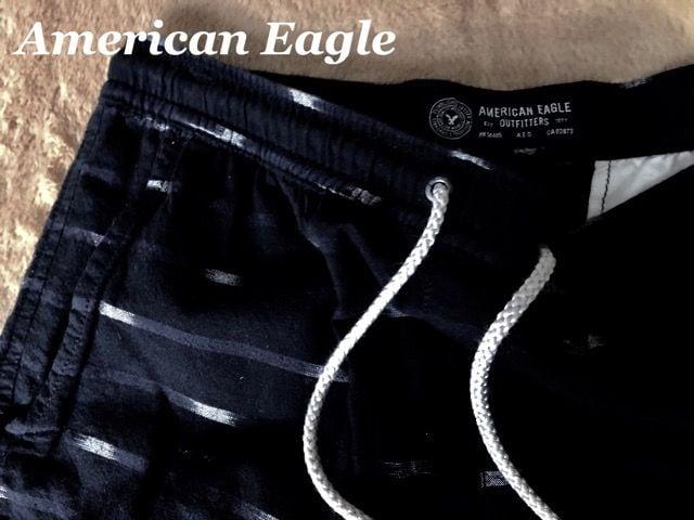 【アメリカンイーグル】Vintage ショートパンツ US-M/Black < ブランドの