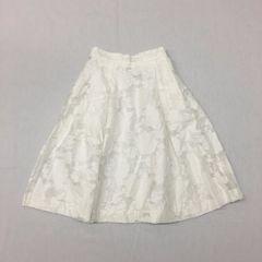 リナオク H&M エイチアンドエム フラワー刺繍 フレアースカート