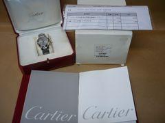 カルティエ  美品  パシャc メリディアン GMT  時計
