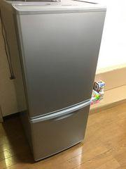 即決処分パナソニック冷蔵庫NR-B144W-S取りに来れる方限定