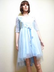 未使用☆発表会にフリ�Aに背編みの可愛い姫ドレスD33☆3点で即落