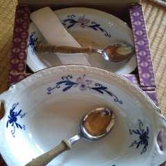 カレー皿スプーンセット