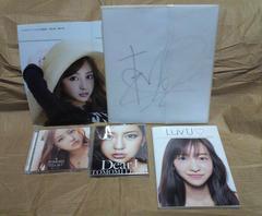 板野友美 サイン色紙 CD  フォトブック ポスター