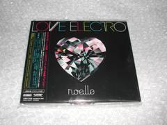 noelle『LOVE ELECTRO』初回盤/美品(ノエル,QYPTHONE,RAM RIDER)