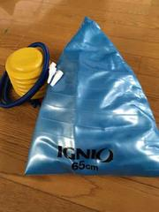 IGNIO バランスボール 空気入れ付き