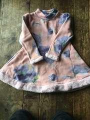 新品 冬物ワンピースドレス size13