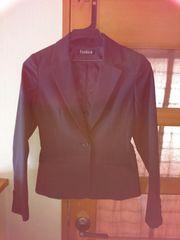 スーツ/パンツ、スカート、ジャケット3セット/白黒ストラップ