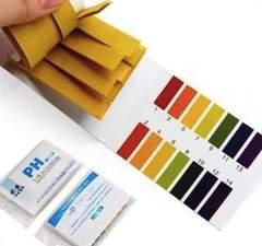 B75 pH試験紙 80枚×2セット 標準色カード付 安い 送料込