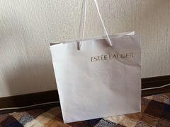 エスティローダーショップ袋紙袋バッグホワイト白色ショッパー