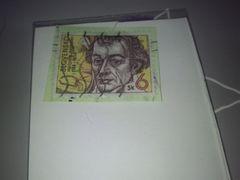 使用済み紙付外国切手