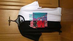 激安90%オフシュプリーム系、海外限定、アメカジ、Tシャツ(新品タグ、黒白、メンズL)