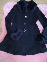 OnewayAラインコート黒