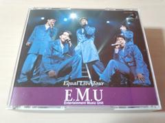 E.M.U CD「Equal Live Tour」エム 緑川光他 声優 2枚組●