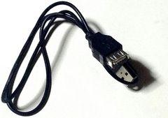 USB延長ケーブル【メス⇔オス】パッケージなし未使用バルク品 普通郵便OK
