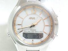 7428/CASIOカシオ★激レアモデルANA限定仕様モデル電波時計ソーラー腕時計