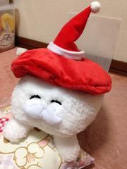 おしゅしだよ【マグロ】クリスマス サンタクロースBIGぬいぐるみ
