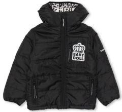 新品BABYDOLL☆120 中綿ジャケット 黒 アウター 撥水加工 ベビードール