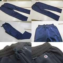 送料込(L紺)チャンピオン★ラップエアドライパンツ C3HS231 軽量パンツ 裾ゴム