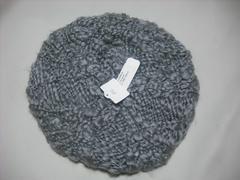 wb332 女 BILLABONG ビラボン ベレー ニット帽 ビーニー 灰