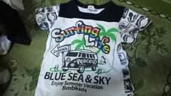 ブルームーンブルー100キッズTシャツ
