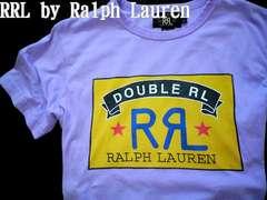 【Double RL & Co.】Vintage Washed ショートスリーブTシャツ L/RRL