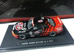 エブロ 1/43 黒箱 タイサン STP スカイラインR32#2 '93 ドリキン