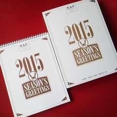 B.A.P2015 SEASON'S GREETINGSカレンダーヨングク/ヒムチャン/デヒョン