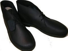 クラークス新品デザートブーツ ブラックレザー26103683us10.5