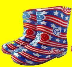 ☆●* 星条旗ニコちゃん◆長靴◆15cm