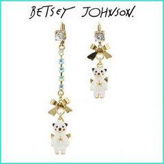 新品 ゴスロリ姫系天使のくまさんピアス BETSEY JOHNSON