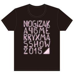 即決 乃木坂46 Tシャツ Merry X'mas Show 2015 _ ピンクver. M