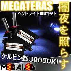 超LED】ステージアM35系前期ハロゲン仕様車/ヘッドライトHIDキット/H1/30000K