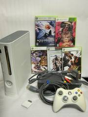 Xbox360☆本体一式+ソフト5本セット☆動作OK